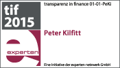 transparenz in finance experte